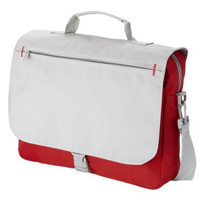 Двухцветная сумка с регулируемым ремнем