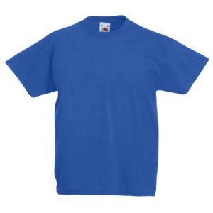 Футболка Fruit of the Loom Kids Valueweight Tee  Royal blue 9-11 Yrs
