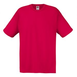 Футболка Fruit of the Loom Original T Red 2XL