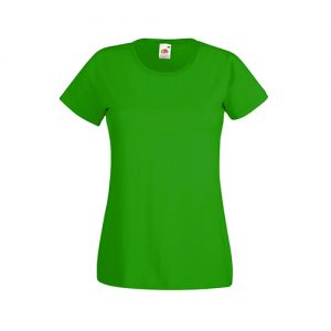 Футболка Fruit of the Loom Lady Fit Valueveight Tee  Kelly Green XS