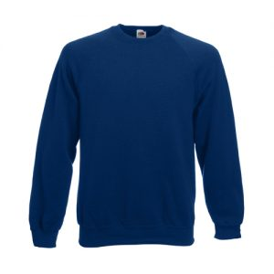 Реглан Fruit of the Loom Raglan Sweat  Navy XL