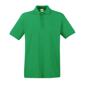 Тенниска Fruit of the Loom  Premium Polo Kelly Green S