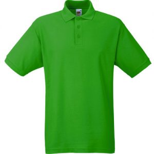 Тенниска Fruit of the Loom 65:35  Polo  Kelly Green 2XL
