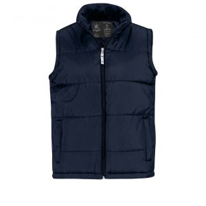 Жилетка B&C унисекс Bodywarmer  Black L