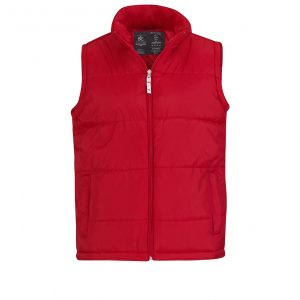 Жилетка B&C унисекс Bodywarmer  Red S