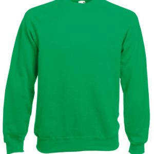 Реглан Fruit of the Loom Raglan Sweat  Kelly Green 2XL