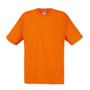 Футболка Fruit of the Loom Original T Orange XL