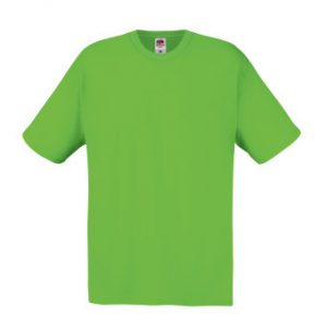 Футболка Fruit of the Loom Original T Lime 2XL