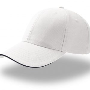 Кепка шестипанельная Atlantis Sport Sandwich BIANCO one size fits all