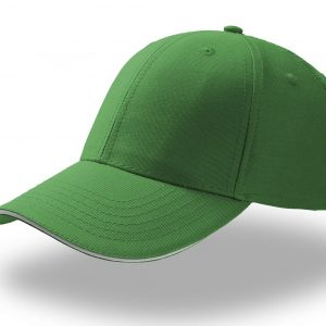 Кепка шестипанельная Atlantis Sport Sandwich Verde Scuro one size fits all