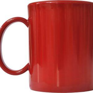 Чашка пластиковая красн.