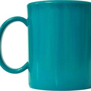 Чашка пластиковая бирюза