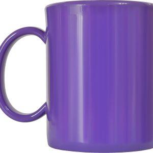 Чашка пластиковая фиол.