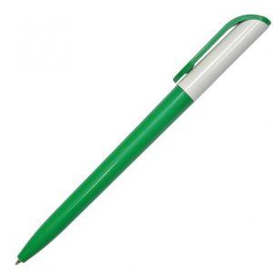 Ручка с поворотн. механизмом PR307-1 зел.бел.зел.